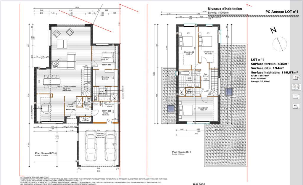 Maison à vendre 6 185m2 à Caluire-et-Cuire vignette-2