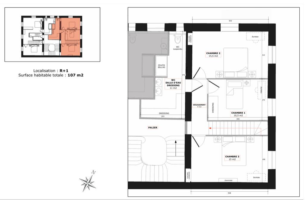 Appartement à vendre 3 59.5m2 à Champagne-au-Mont-d'Or vignette-3