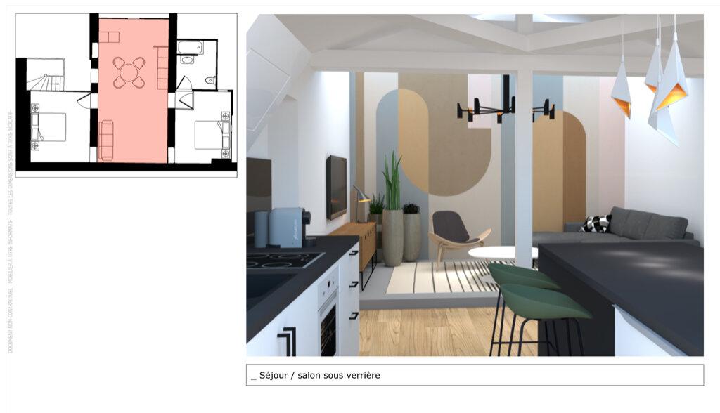 Appartement à vendre 3 51m2 à Champagne-au-Mont-d'Or vignette-1