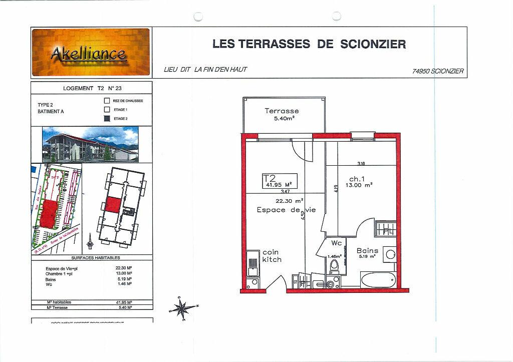 Appartement à louer 2 41.95m2 à Scionzier vignette-7