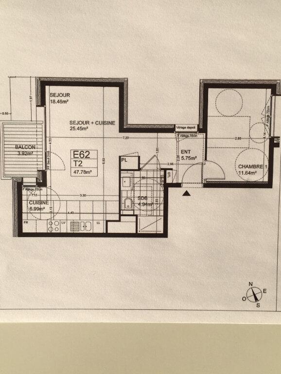 Appartement à louer 2 47.78m2 à Annemasse vignette-7