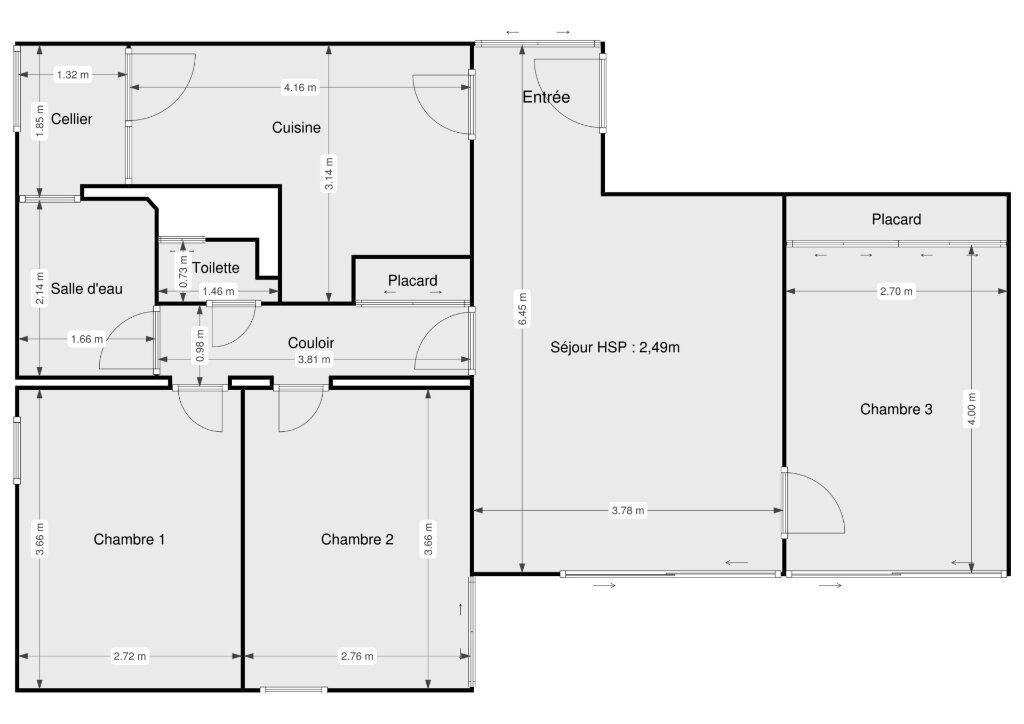 Appartement à vendre 4 72m2 à Biscarrosse vignette-13