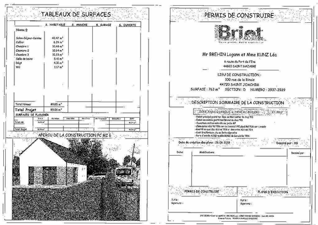 Terrain à vendre 0 763m2 à Saint-Joachim vignette-6