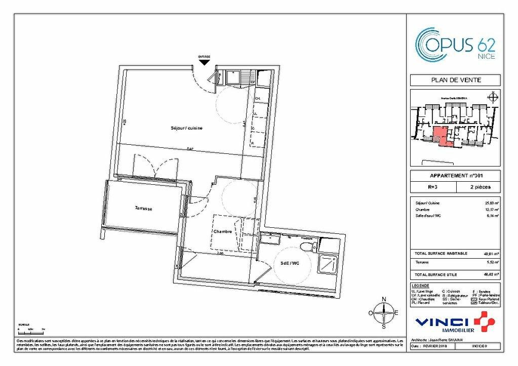 Appartement à vendre 2 32m2 à Nice vignette-2