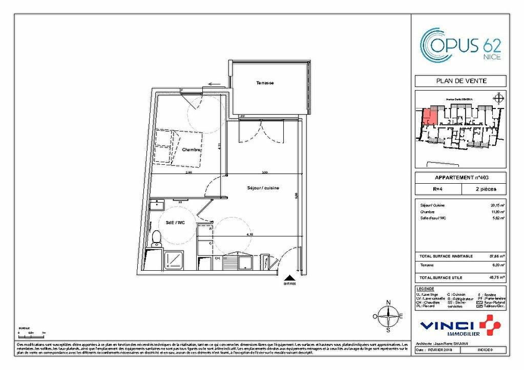 Appartement à vendre 2 32m2 à Nice vignette-3