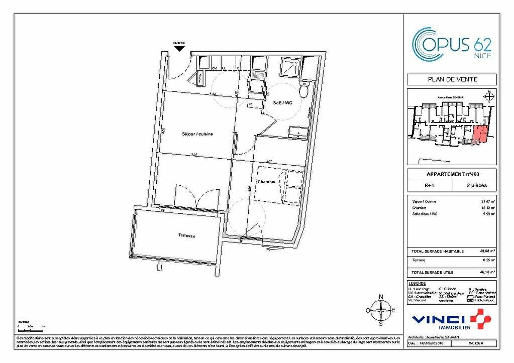 Appartement à vendre 2 32m2 à Nice vignette-4