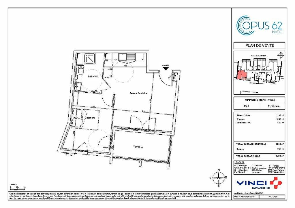 Appartement à vendre 2 32m2 à Nice vignette-5