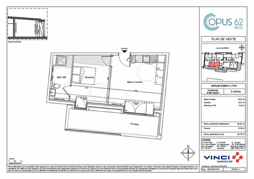 Appartement à vendre 2 32m2 à Nice vignette-7