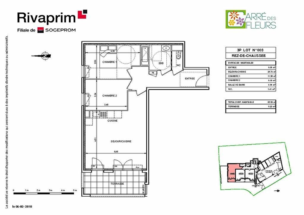 Appartement à vendre 3 42.95m2 à Nice vignette-2