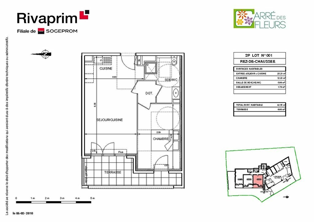 Appartement à vendre 2 40.8m2 à Nice vignette-2