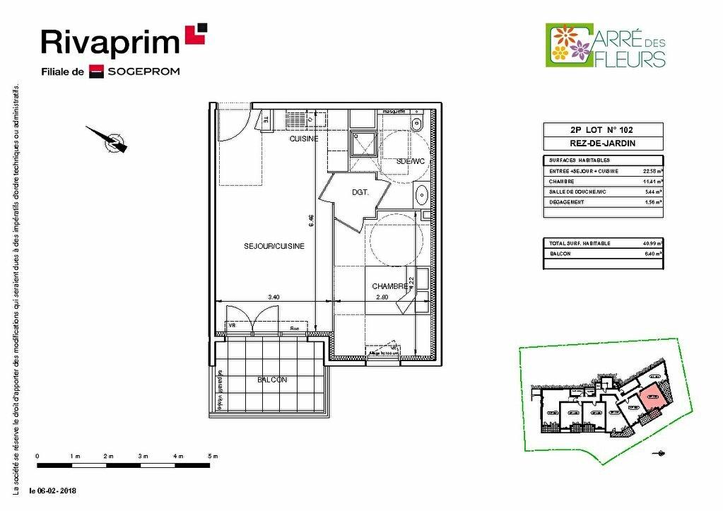 Appartement à vendre 2 40.8m2 à Nice vignette-3