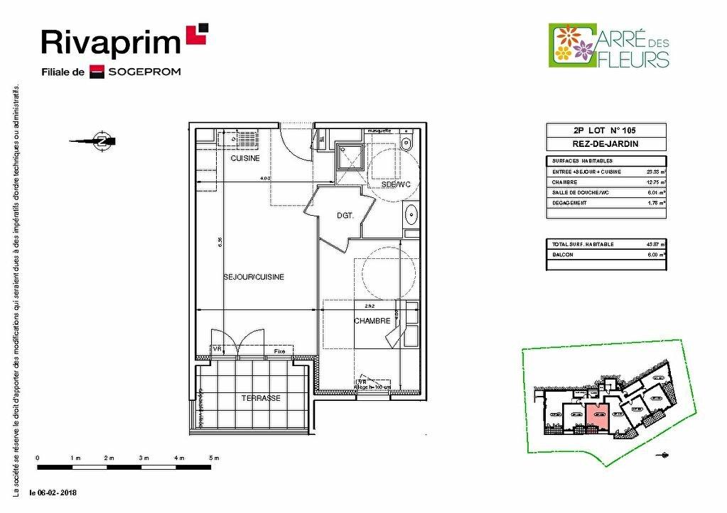 Appartement à vendre 2 40.8m2 à Nice vignette-4