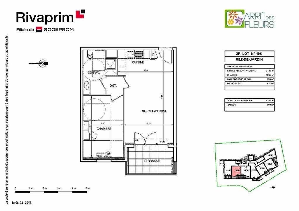 Appartement à vendre 2 40.8m2 à Nice vignette-5