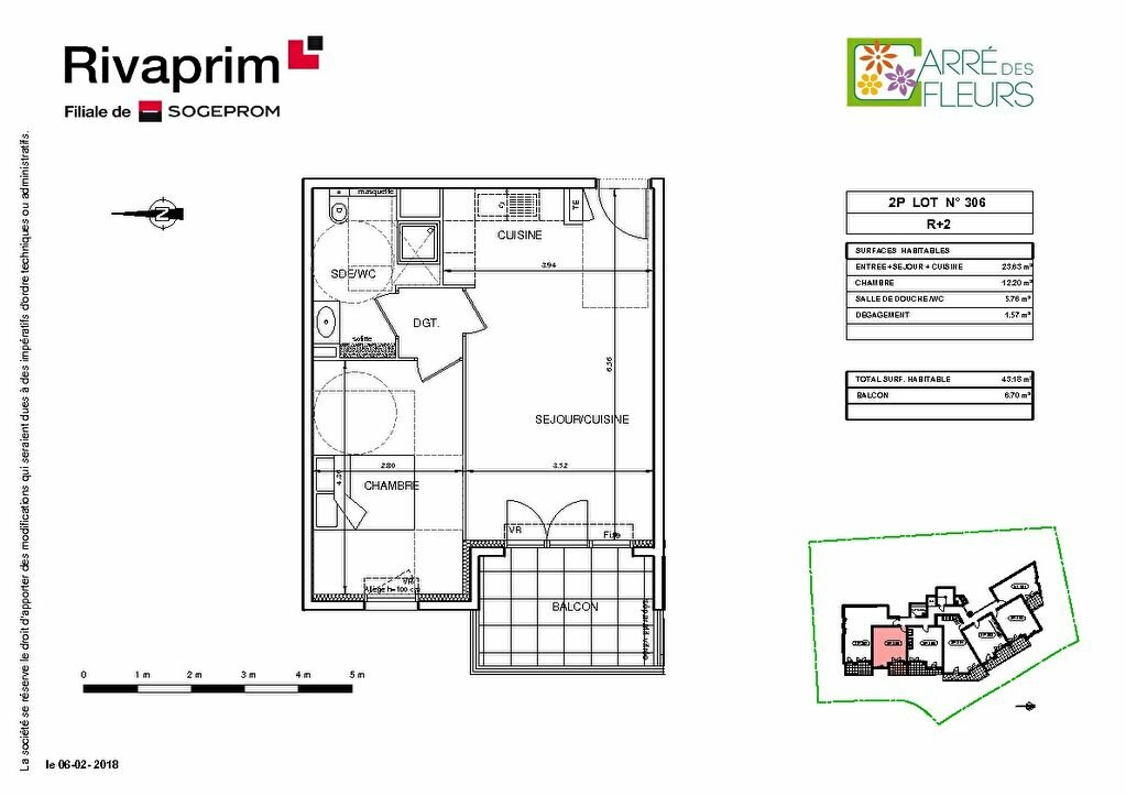 Appartement à vendre 2 43.18m2 à Nice vignette-2