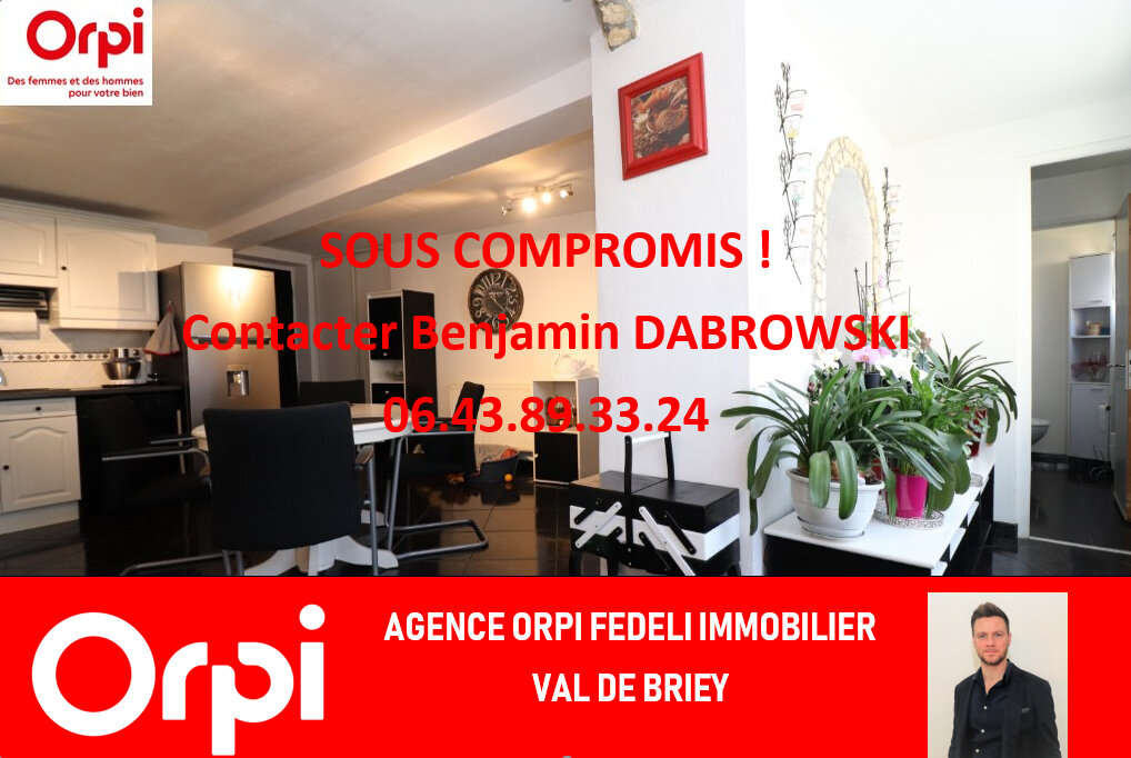 Maison Briey 125 M T 6 Vendre 87 000 EUR
