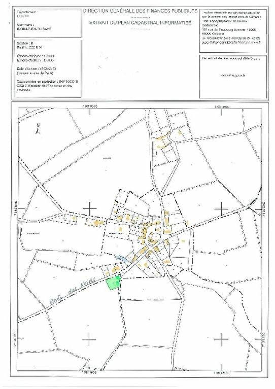 Terrain à vendre 0 2400m2 à Batilly-en-Puisaye plan-1