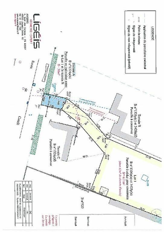 Terrain à vendre 0 611m2 à Bécon-les-Granits vignette-4
