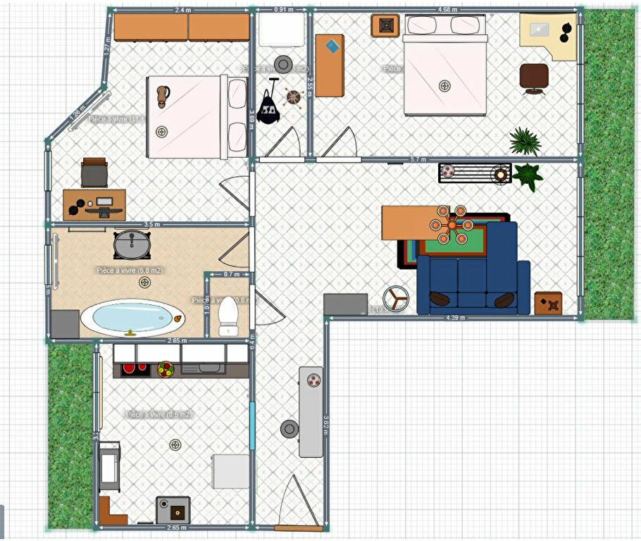 Appartement à louer 3 60.55m2 à Marseille 8 vignette-3