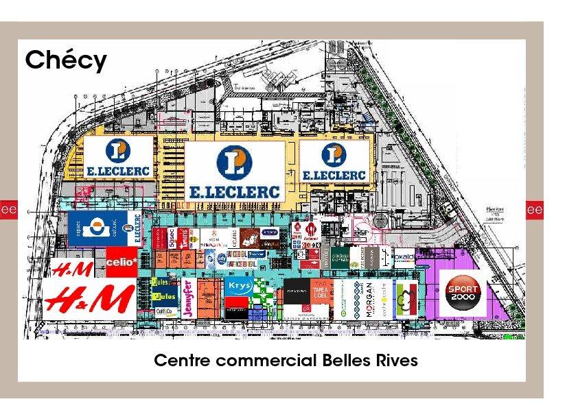 Local commercial à louer 0 350m2 à Chécy plan-1