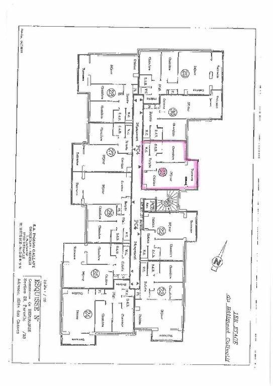Appartement à louer 2 43.75m2 à Bertrange plan-2