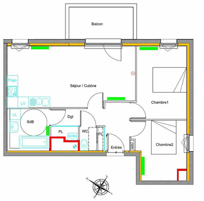 Appartement à vendre 3 59.27m2 à Rombas vignette-2