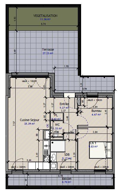 Appartement à vendre 3 54m2 à Metz vignette-2