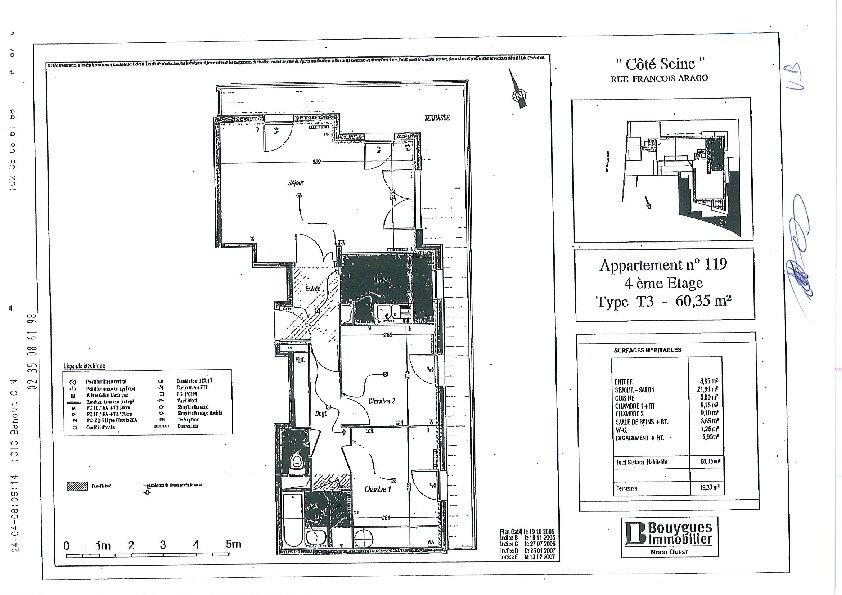 Appartement à louer 3 60.35m2 à Rouen vignette-3