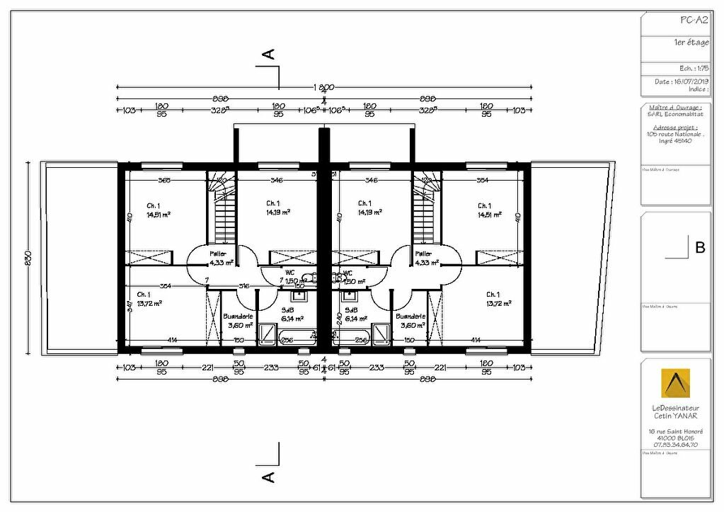 Maison à vendre 4 106m2 à Ingré vignette-3