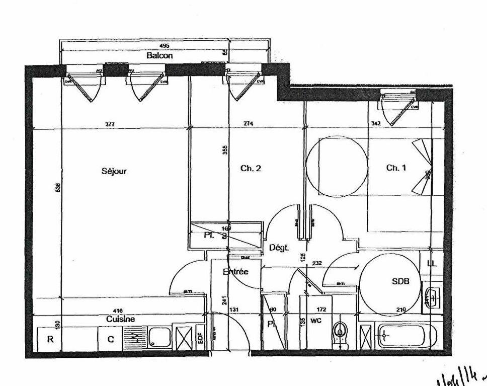 Appartement à louer 3 62.18m2 à Lagny-sur-Marne vignette-7