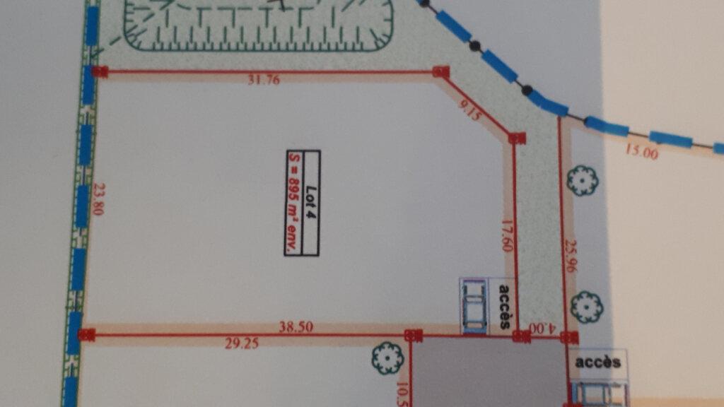Terrain à vendre 0 895m2 à Vallon-Pont-d'Arc vignette-2
