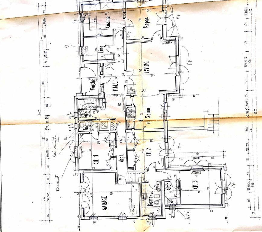 Maison à vendre 9 263m2 à Vence plan-2