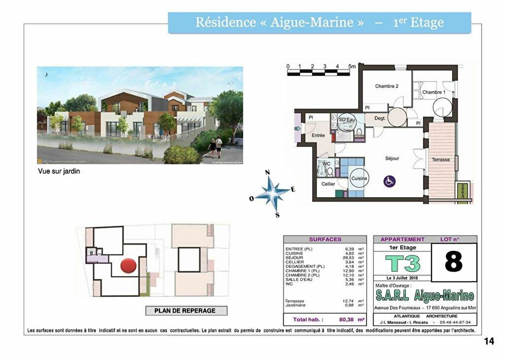 Appartement à vendre 3 80.38m2 à La Rochelle vignette-4