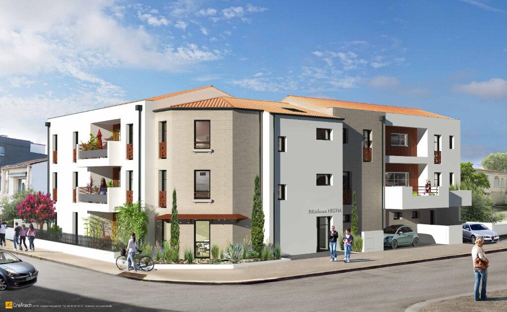 Appartement à vendre 3 72.3m2 à La Rochelle vignette-2