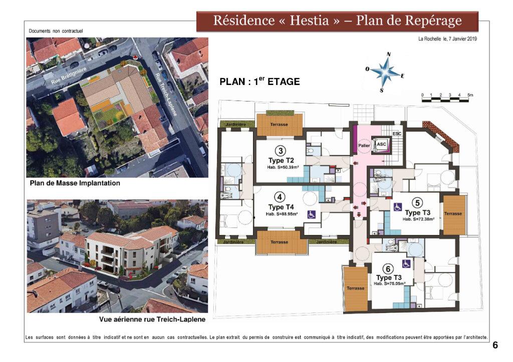 Appartement à vendre 3 72.3m2 à La Rochelle vignette-5
