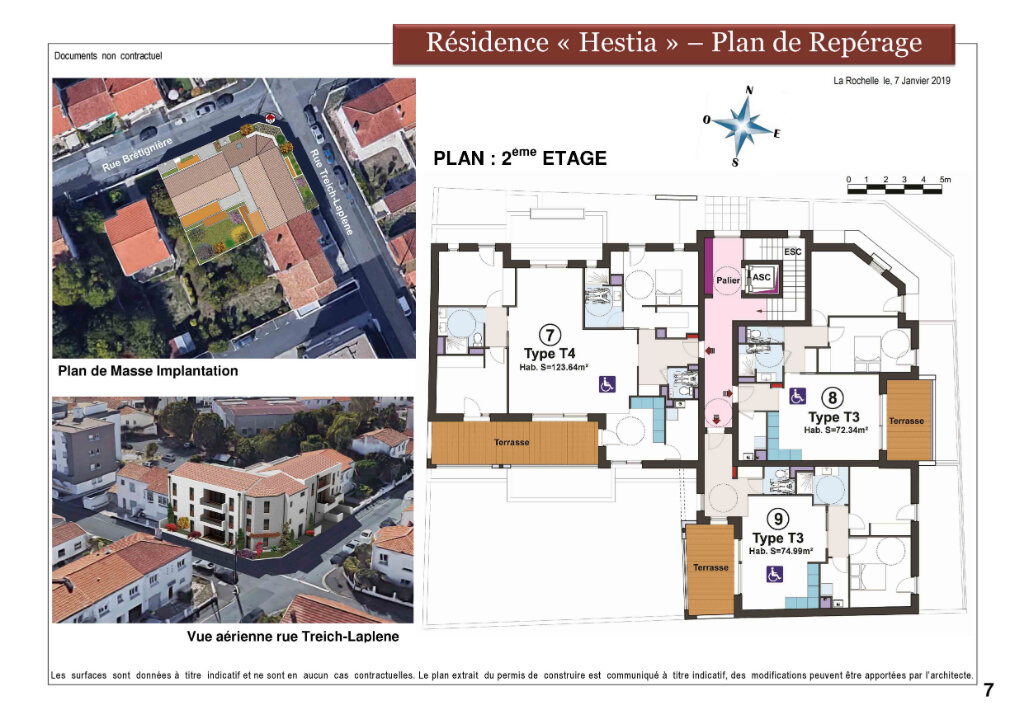 Appartement à vendre 3 72.3m2 à La Rochelle vignette-6