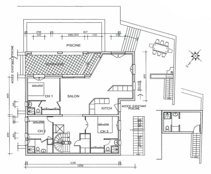 Maison à vendre 6 330m2 à Théoule-sur-Mer plan-1