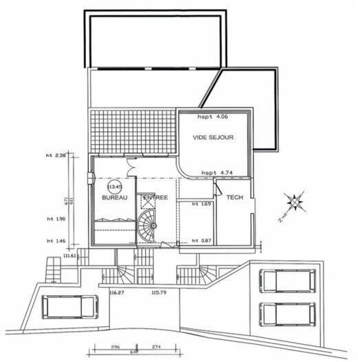 Maison à vendre 6 330m2 à Théoule-sur-Mer plan-2