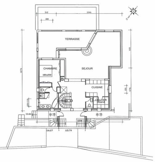 Maison à vendre 6 330m2 à Théoule-sur-Mer plan-3