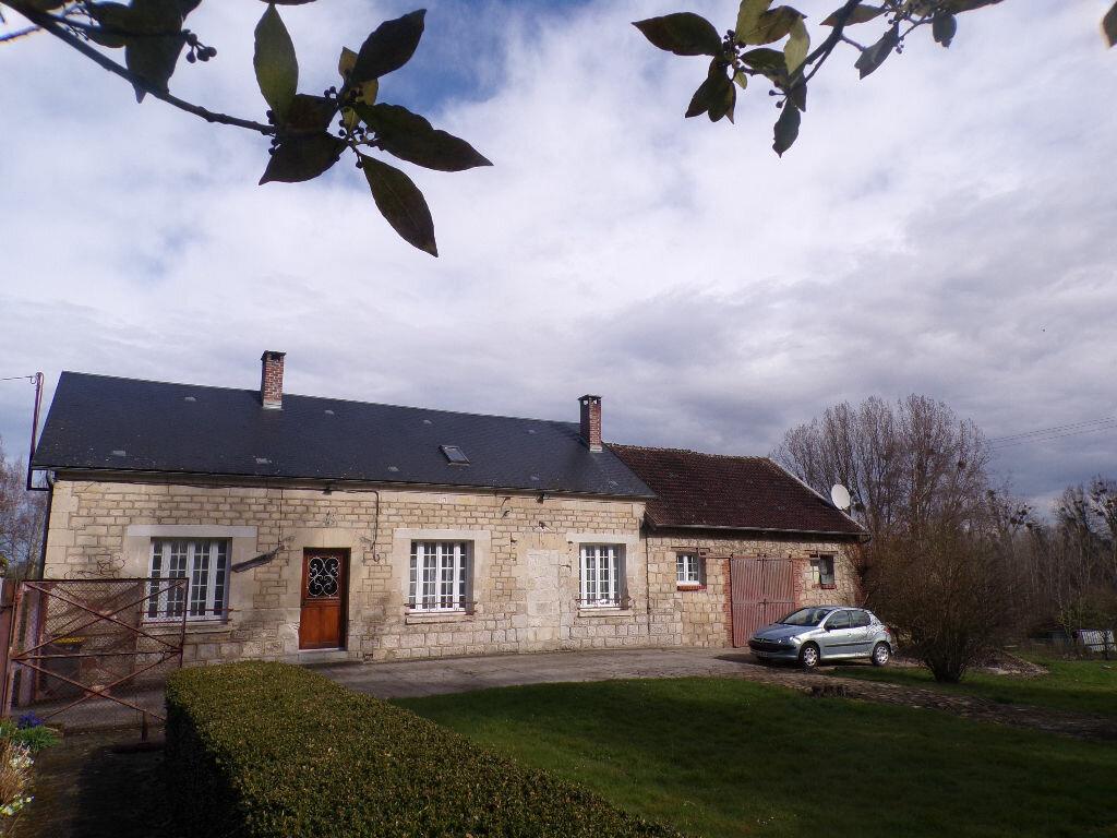 Maison à vendre 6 165m2 à Crécy-au-Mont vignette-1