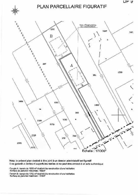 Terrain à vendre 0 3253m2 à Groffliers vignette-1
