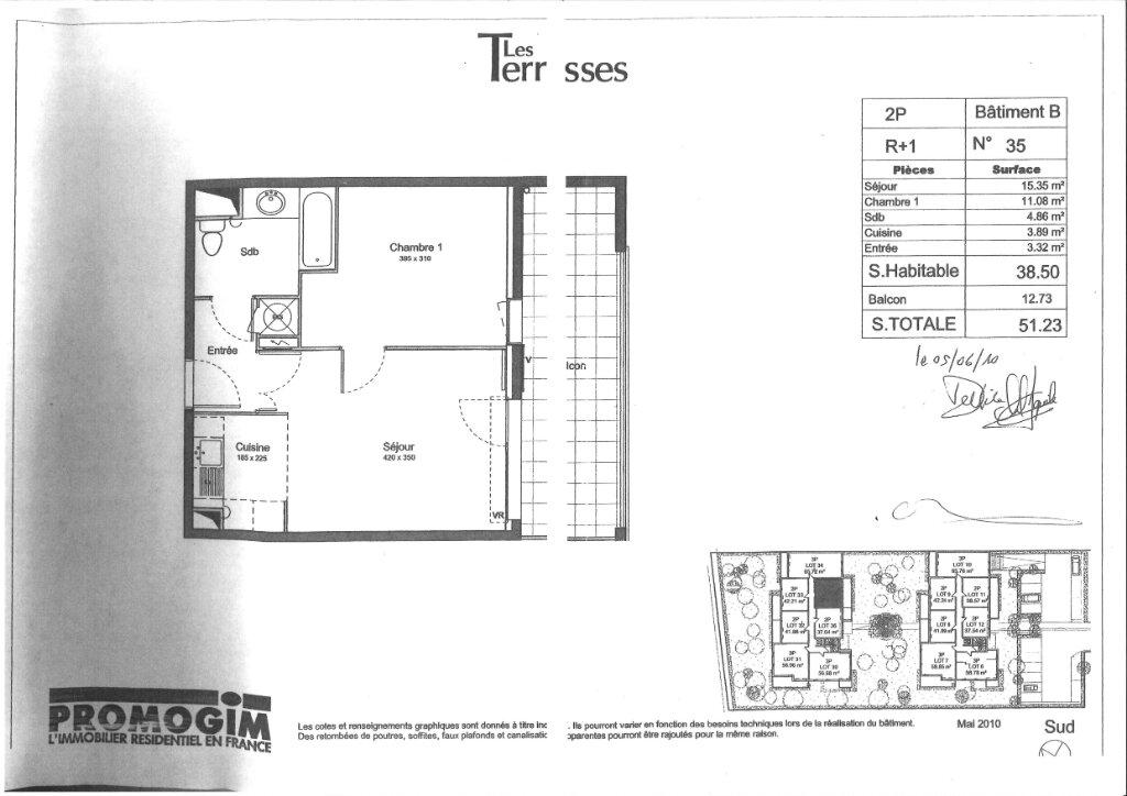 Appartement à louer 2 38.5m2 à Épinay-sur-Orge vignette-7