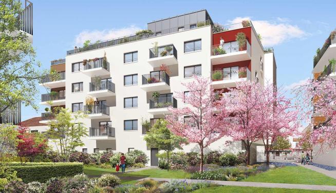 Appartement à louer 2 42m2 à Le Bourget vignette-1