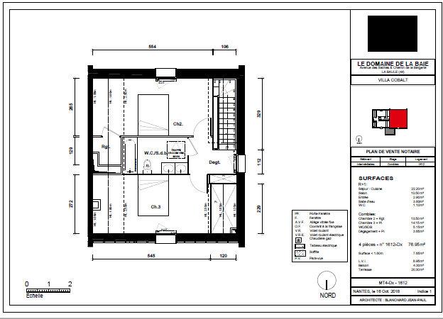 Appartement à vendre 4 76.95m2 à La Baule-Escoublac vignette-2