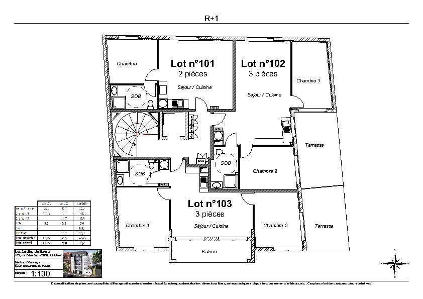 Appartement à vendre 2 41.35m2 à Le Havre vignette-2