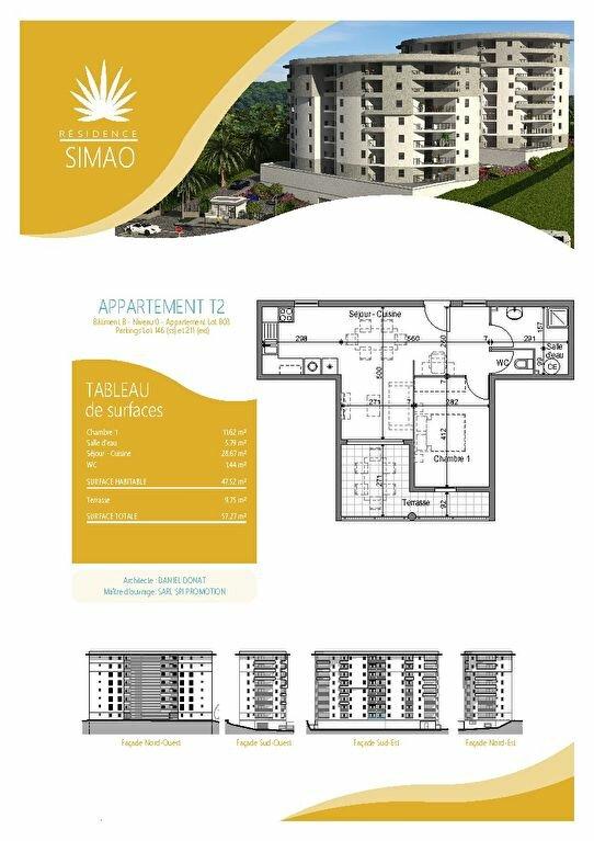 Appartement à louer 2 47.52m2 à Fort-de-France vignette-1
