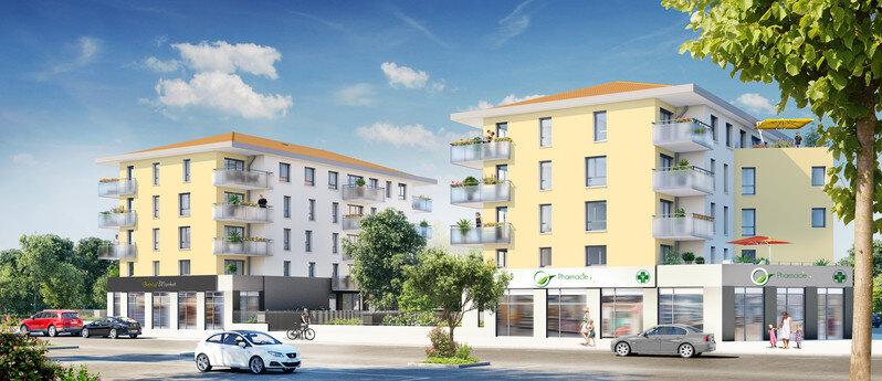 Appartement à louer 2 40.24m2 à Vénissieux plan-1