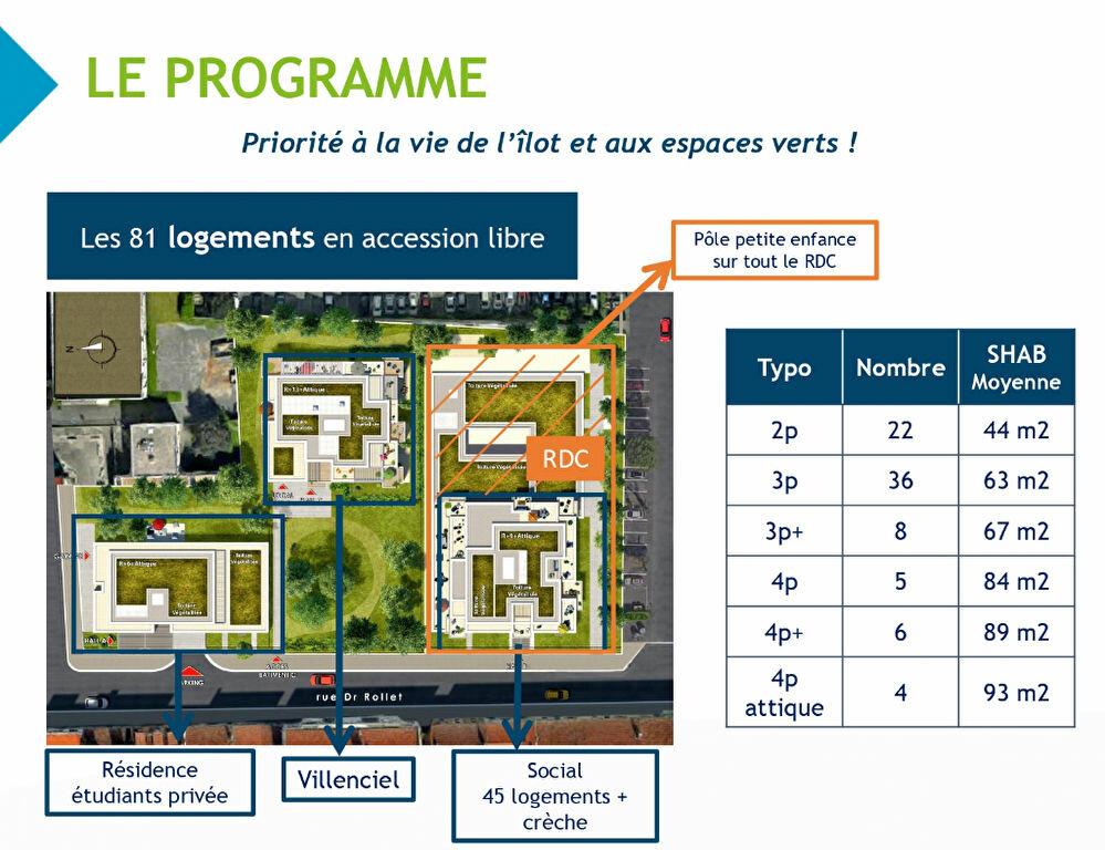 Appartement à vendre 4 83m2 à Villeurbanne vignette-10