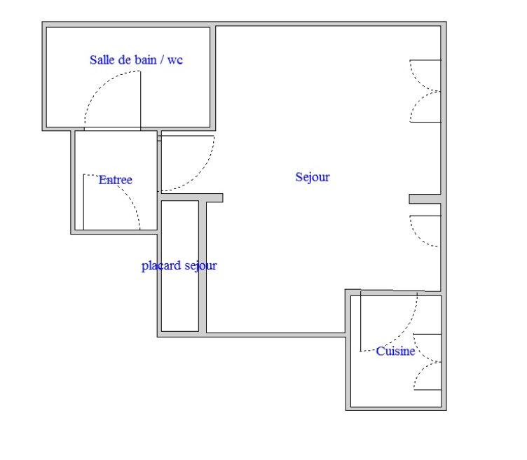 Appartement à louer 1 28m2 à Antony vignette-7