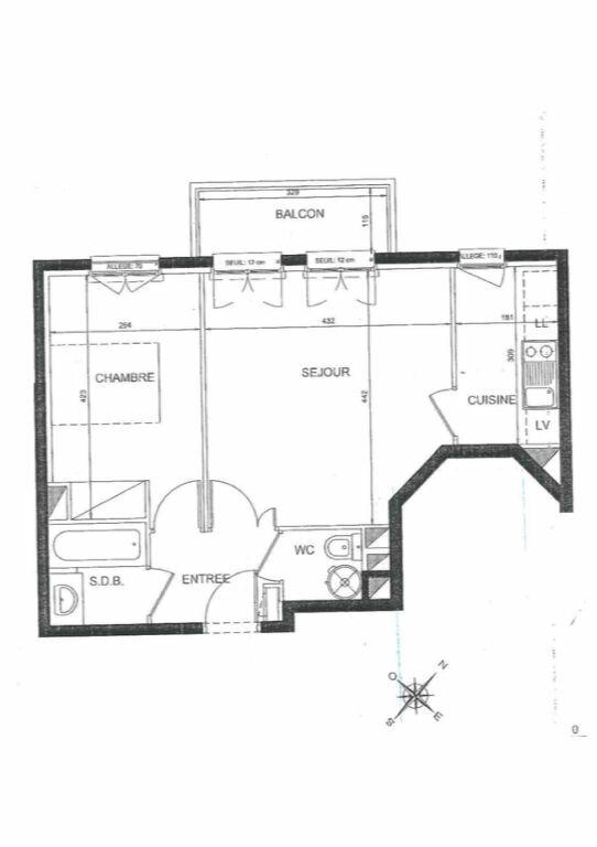 Appartement à louer 2 42.63m2 à Le Plessis-Robinson vignette-6