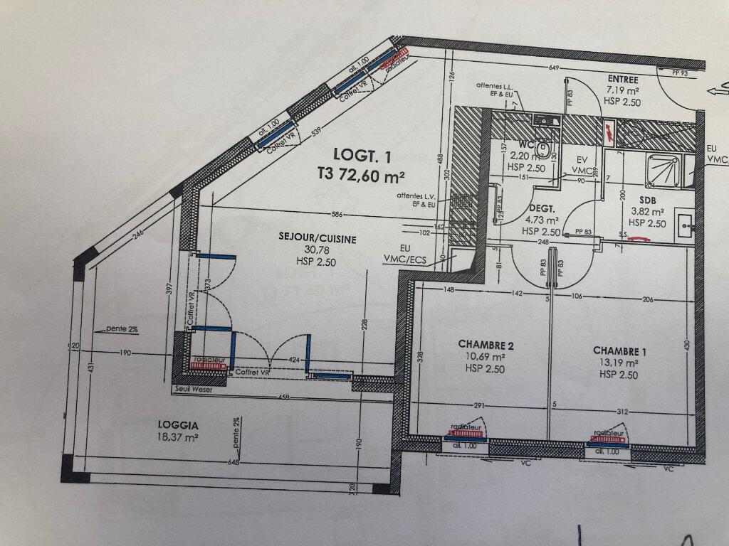 Appartement à louer 3 72.6m2 à Miramas vignette-9